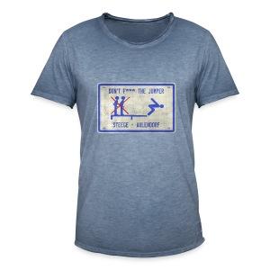 vintage Steege Schild - Männer Vintage T-Shirt
