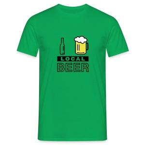 I Love Local Beer (green) - Männer T-Shirt