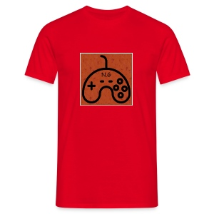 Nozemgaming red T-Shirt (logo) : red - Men's T-Shirt