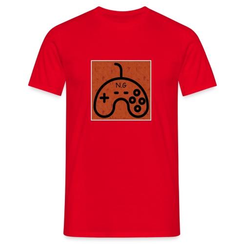 Nozemgaming red T-Shirt (logo) : red - Men's T-Shirt