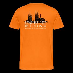 UBI BENE DO ES KÖLLE Dom St.Martin (Vintage S/W) S-5XL Köln T-Shirt - Männer Premium T-Shirt