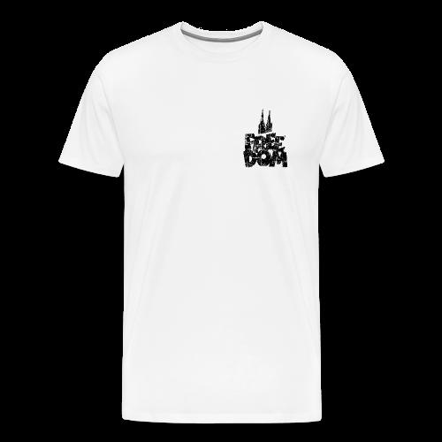 Free Dom (Vintage Schwarz) Köln S-5XL T-Shirt - Männer Premium T-Shirt