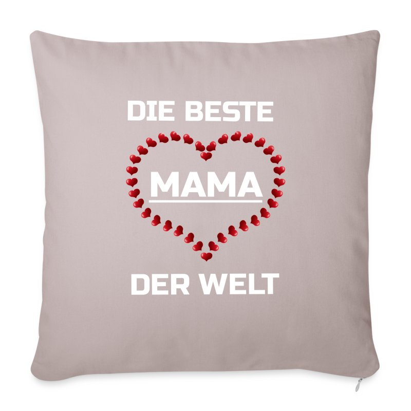 die beste mama der welt sofakissenbezug spreadshirt. Black Bedroom Furniture Sets. Home Design Ideas