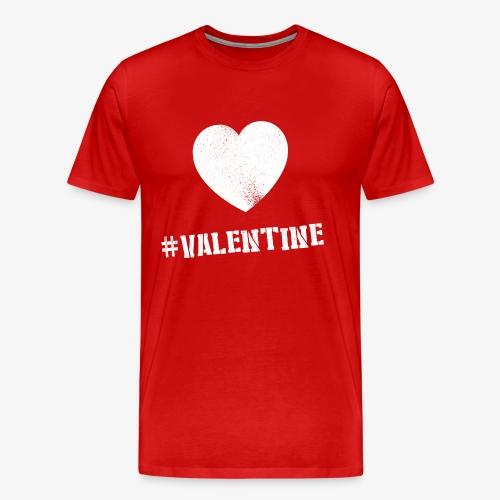 #valentine M - Mannen Premium T-shirt