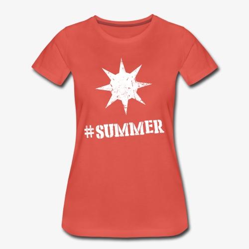 #summer V - Vrouwen Premium T-shirt