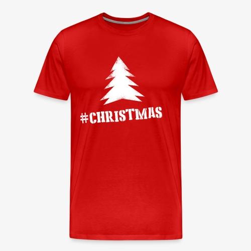 #christmas T-shirt M Rood - Mannen Premium T-shirt