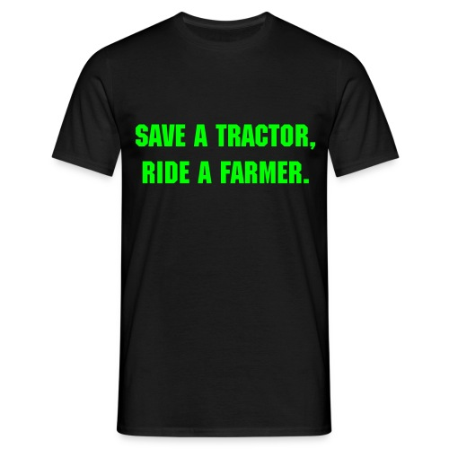 Save a tractor Shirt - Mannen T-shirt