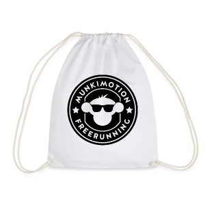 Drawstring Bag : white - Drawstring Bag