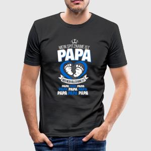 PAPA T-Shirts - Männer Slim Fit T-Shirt