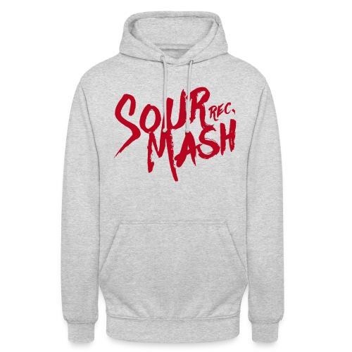 Kapuzenpullover Unisex // SOUR MASH (Logo rot) - Unisex Hoodie