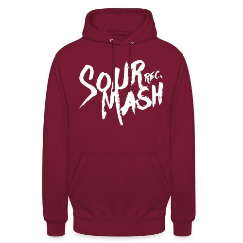 Kapuzenpullover Unisex // SOUR MASH (Logo weiß) - Unisex Hoodie