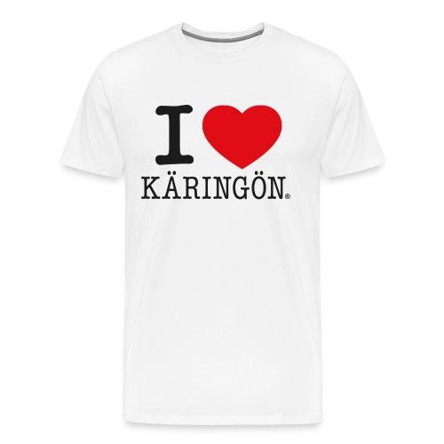 Love Teeskjorta - Premium-T-shirt herr