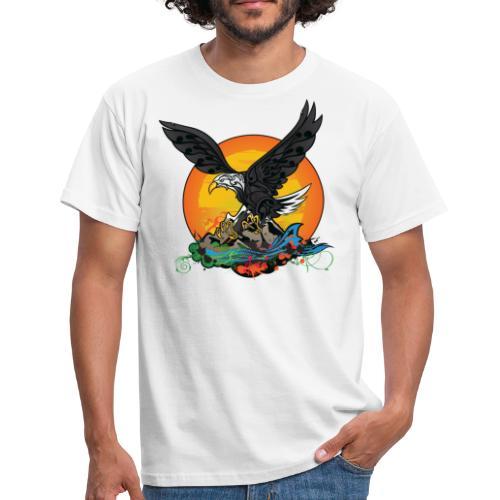 Wild Eagle  - T-shirt Homme