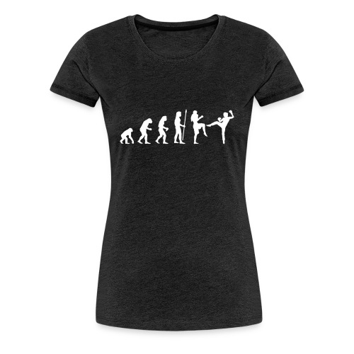 evolution_fight_girls - T-shirt Premium Femme