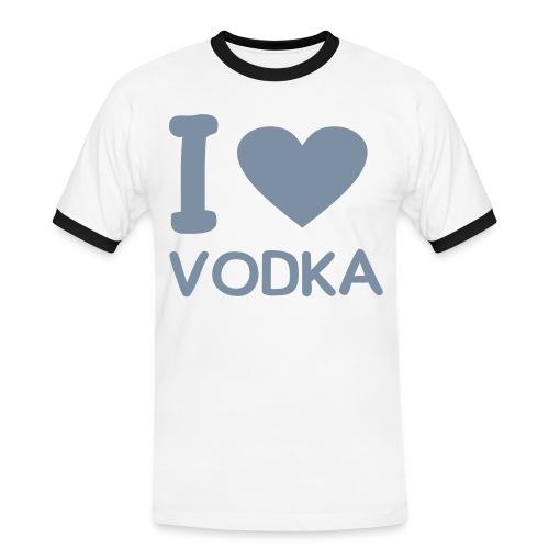 Iove vodka argenter - T-shirt contrasté Homme