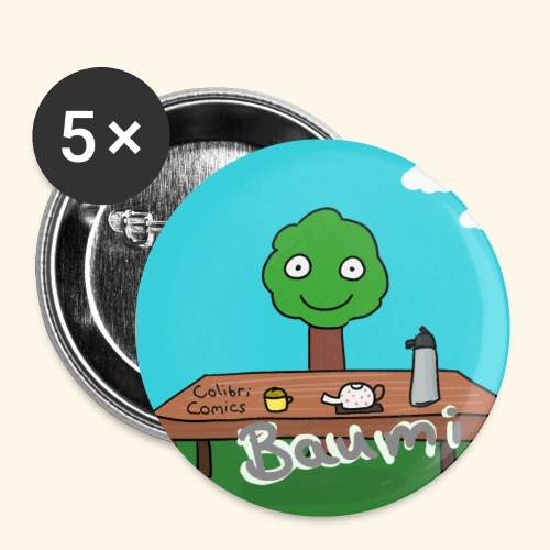 Baumi Tee Button - Buttons klein 25 mm