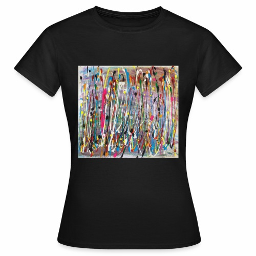 Colourful Paint Splash - Women's T-Shirt