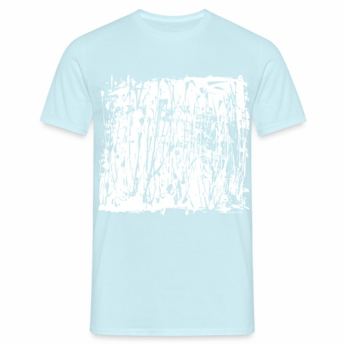 White Paint Splash - Men's T-Shirt