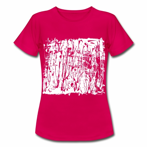 White Paint Splash - Women's T-Shirt
