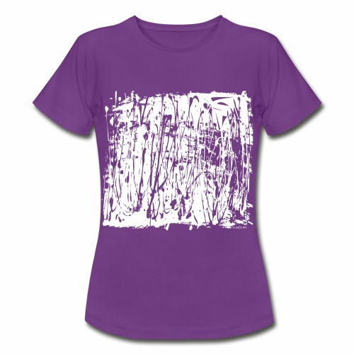 White Paint Splash - Women's T-Shirt