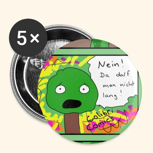 Baumi darf nicht Button - Buttons klein 25 mm