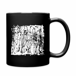 White Paint Splash  - Full Colour Mug