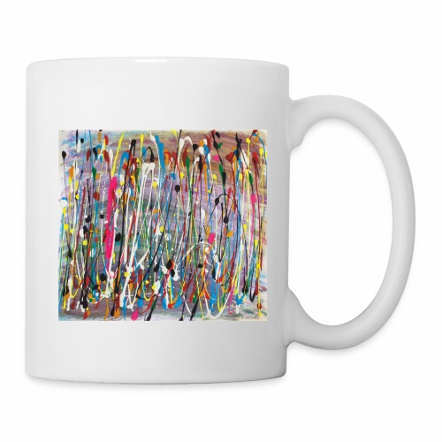 Colourful Paint Splash - Mug
