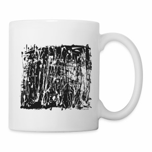 Black Paint Splash - Mug
