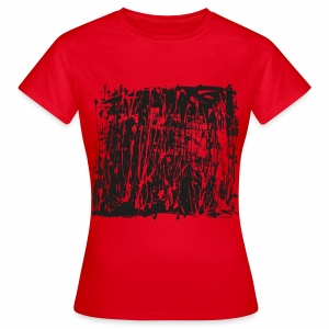 Black Paint Splash - Women's T-Shirt