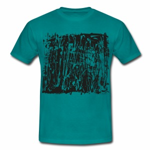 Black Paint Splash - Men's T-Shirt