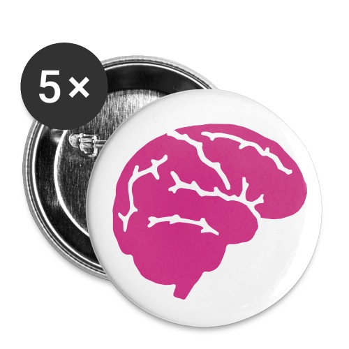 Brain no hand - Spille - Spilla piccola 25 mm