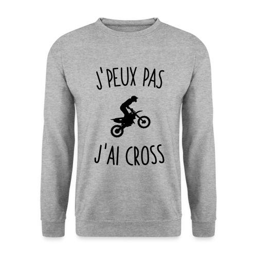 J'PEUX PAS J'AI CROSS - Sweat-shirt Homme