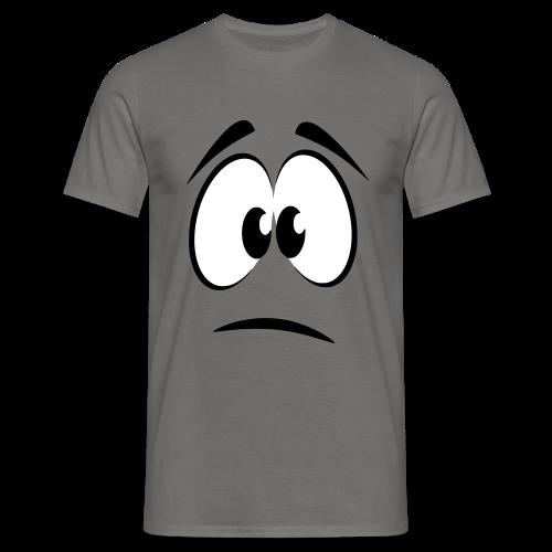 traurig - Männer T-Shirt