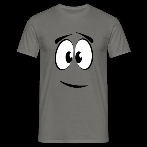zufrieden - Männer T-Shirt