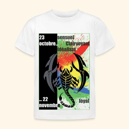 Zodiac Scorpion - T-shirt Enfant