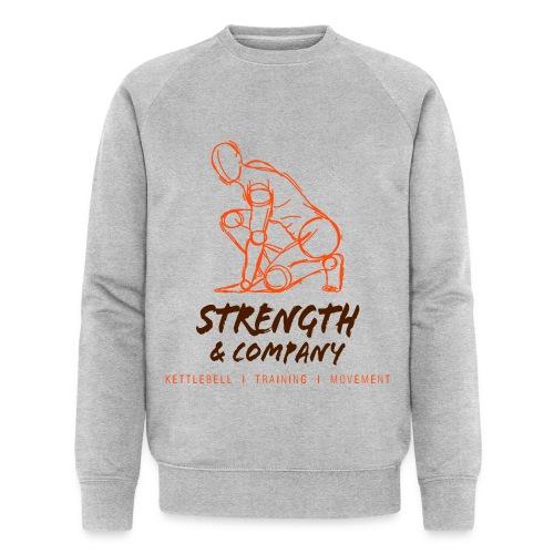 STRENGTH & Company_sweater grey - Mannen bio sweatshirt van Stanley & Stella