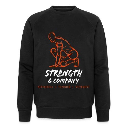 STRENGTH & Company_sweater black - Mannen bio sweatshirt van Stanley & Stella