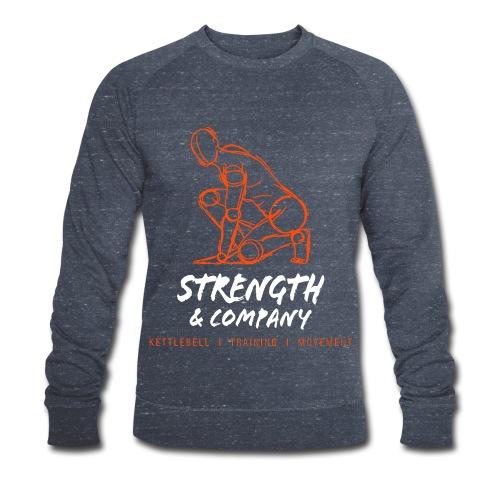 STRENGTH & Company_sweater blue - Mannen bio sweatshirt van Stanley & Stella