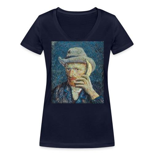 Van Gogh vrouwen v-hals bio - Vrouwen bio T-shirt met V-hals van Stanley & Stella