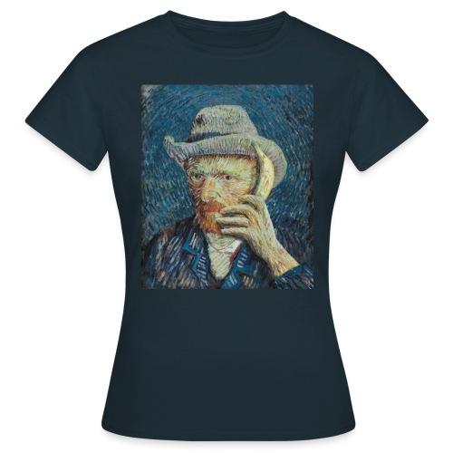 Van Gogh vrouwen t-shirt - Vrouwen T-shirt