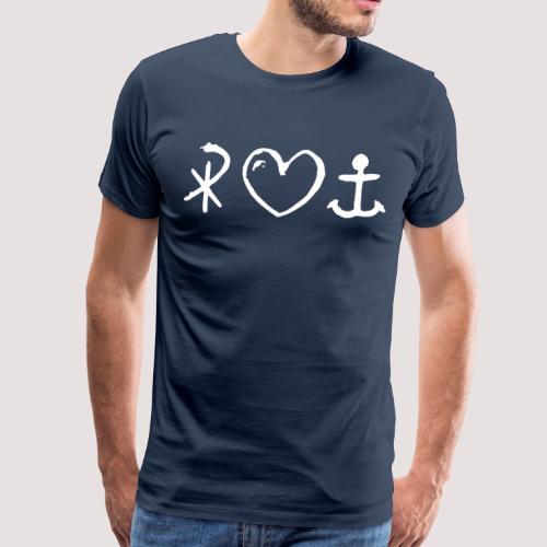 Glaube Liebe Hoffnung Herren TShirt -Ferienfreizeit - Männer Premium T-Shirt