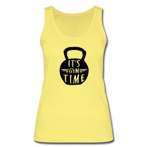 IT'S GYM TIME Tops - Women's Organic Tank Top