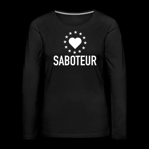 Brexit Saboteur - Women's Premium Longsleeve Shirt