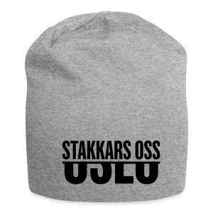 Lue lysegrå - Jersey-beanie