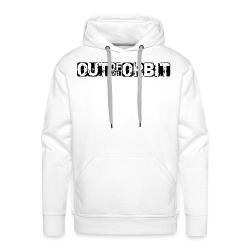 First Orbit - White - Mannen Premium hoodie