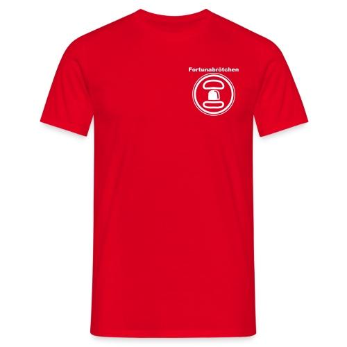 Fortunabrötchen T-Shirt 2 Logos - Männer T-Shirt