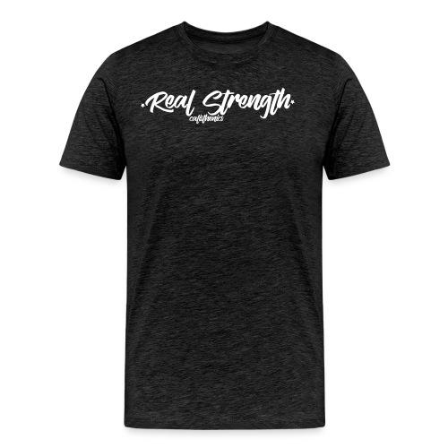 Real Strength Calisthenics - Men's Premium T-Shirt