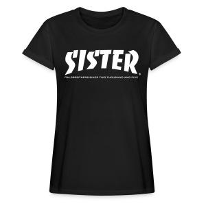 SISTER Oversize shirt - Frauen Oversize T-Shirt