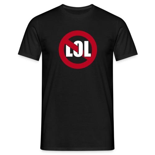 lol - schwarz - Männer T-Shirt