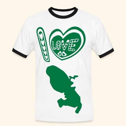 I LOVE martinique t-shirt - T-shirt contrasté Homme